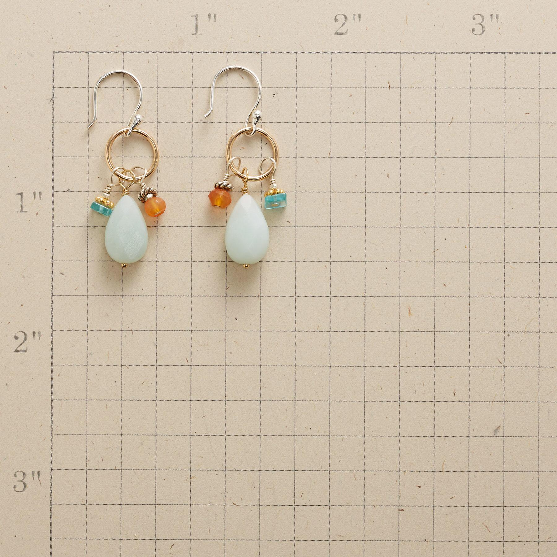 FIRE AND WATER EARRINGS: View 2