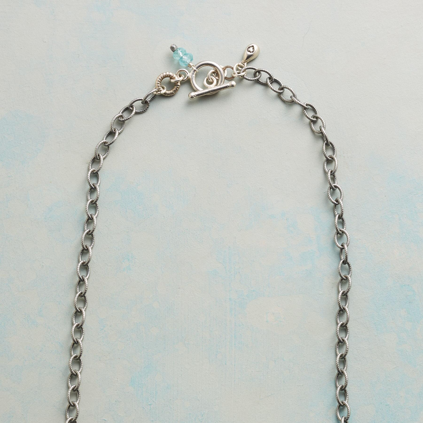 BLUE RAINBOW NECKLACE: View 3