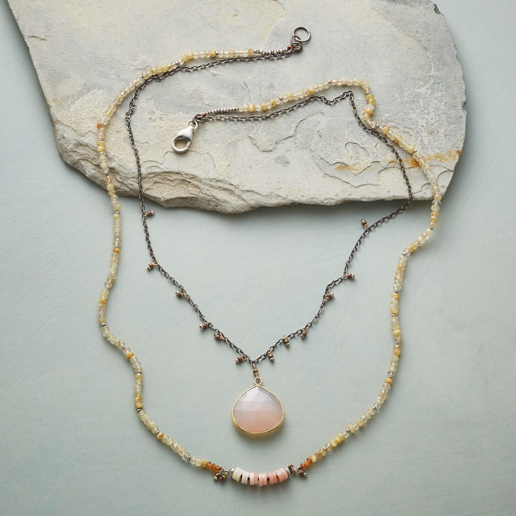 PLEASURES OF PALE NECKLACE: View 2