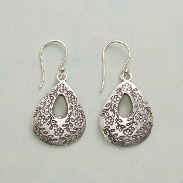 FLOWERING VINE EARRINGS