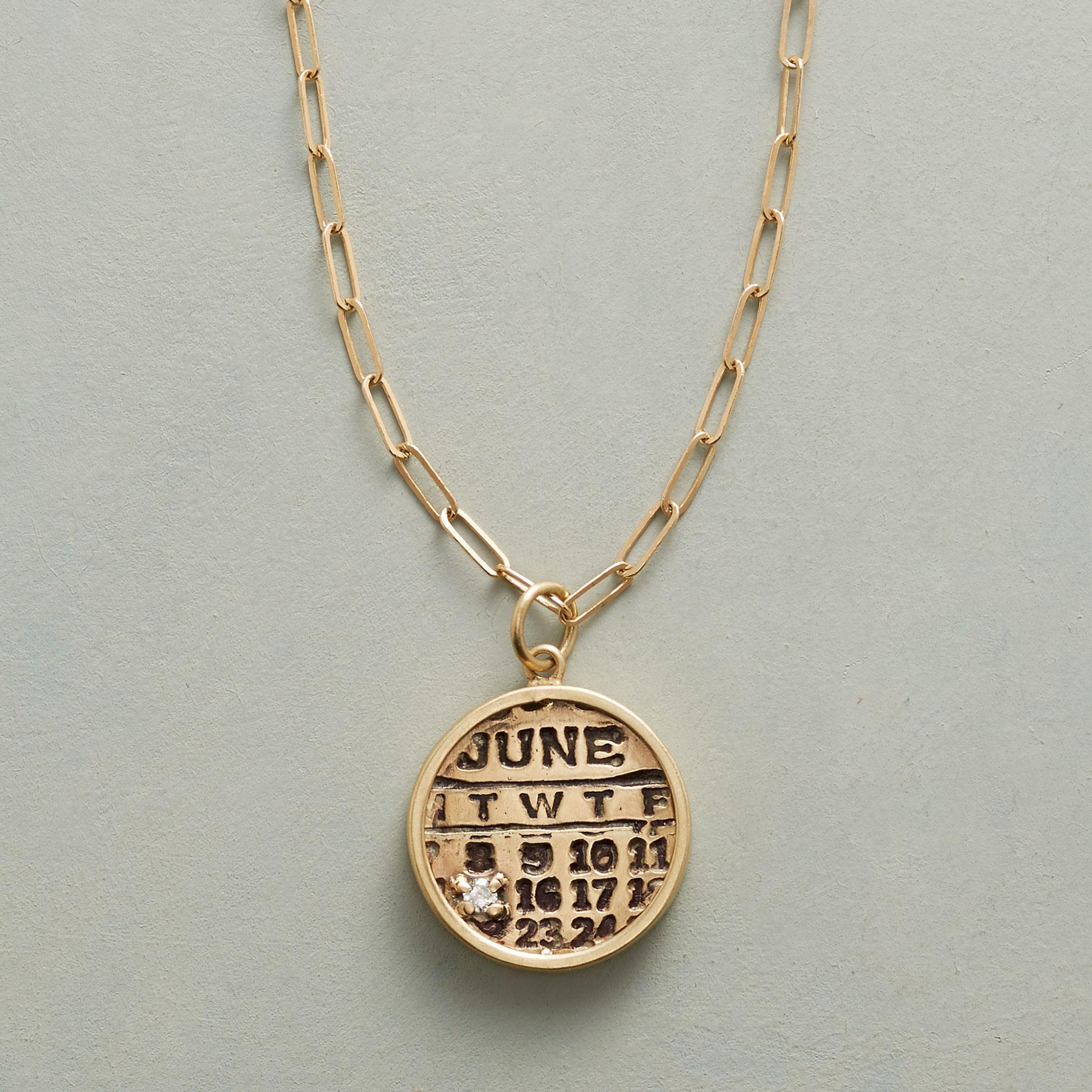 BIRTHDAY ZODIAC NECKLACE: View 1