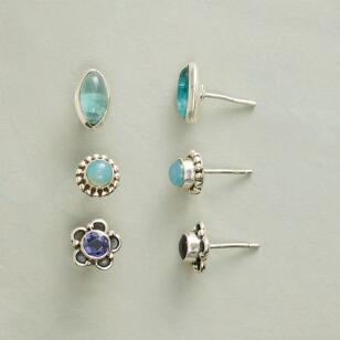 WEEKDAY EARRING TRIO