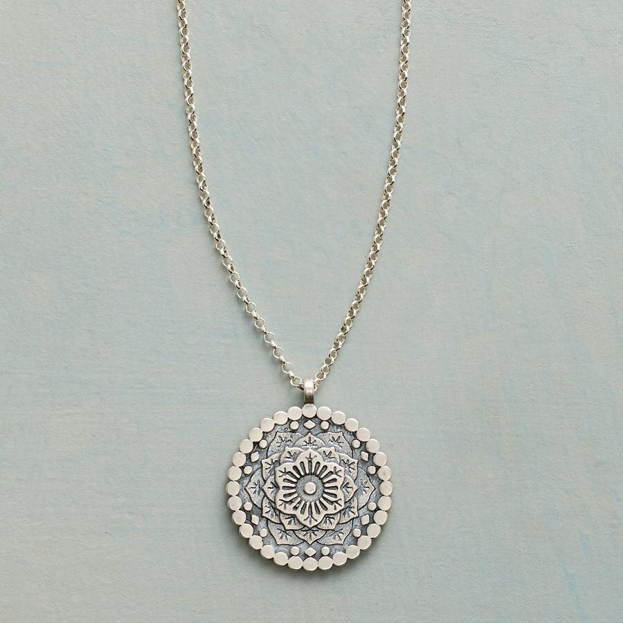 GRATITUDE MANDALA NECKLACE