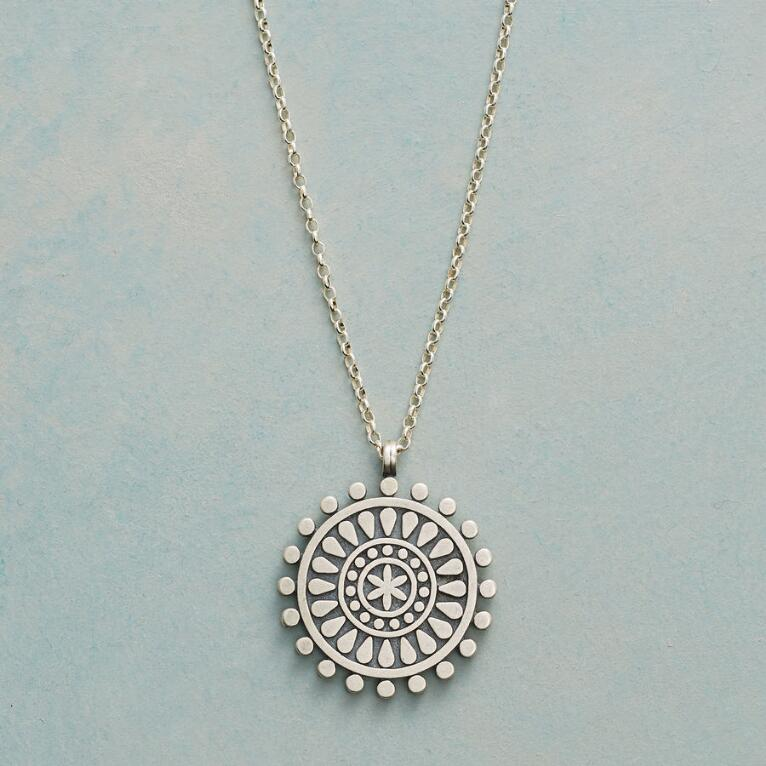 NEW BEGINNINGS MANDALA NECKLACE