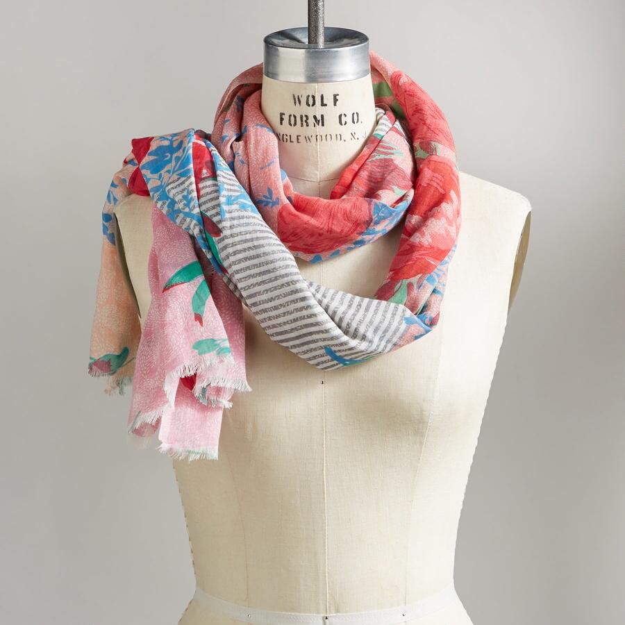 ETERNAL BLOOMS SCARF