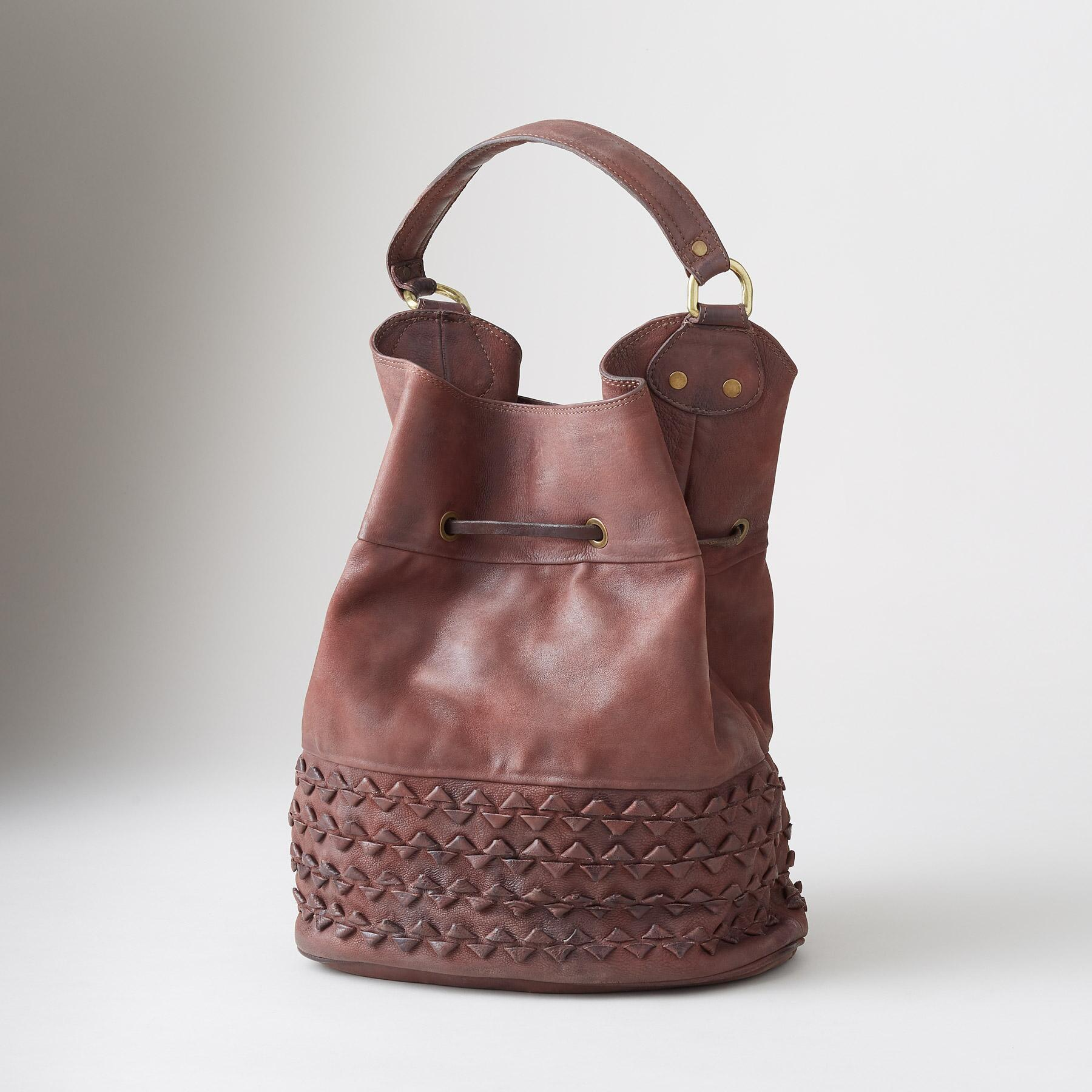 ARTIFACT BUCKET BAG: View 2