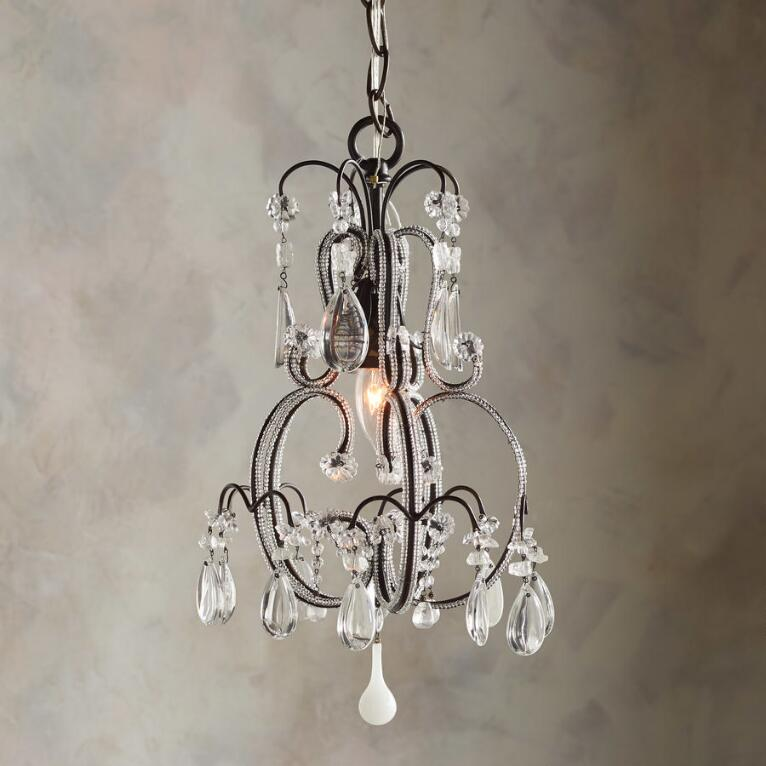 CRYSTAL SPRINGS CHANDELIER