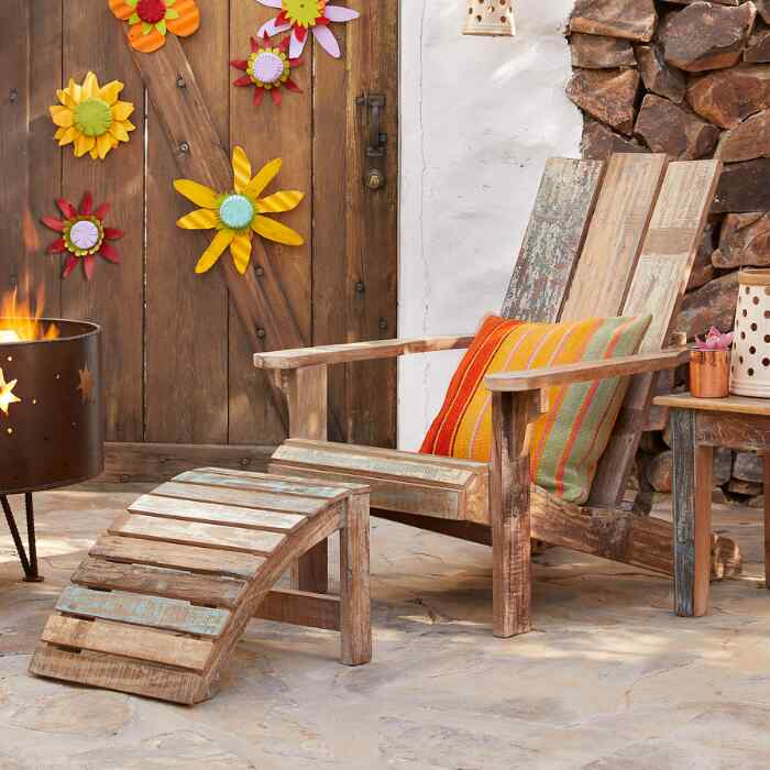 RECLAIMED ADIRONDACK CHAIR