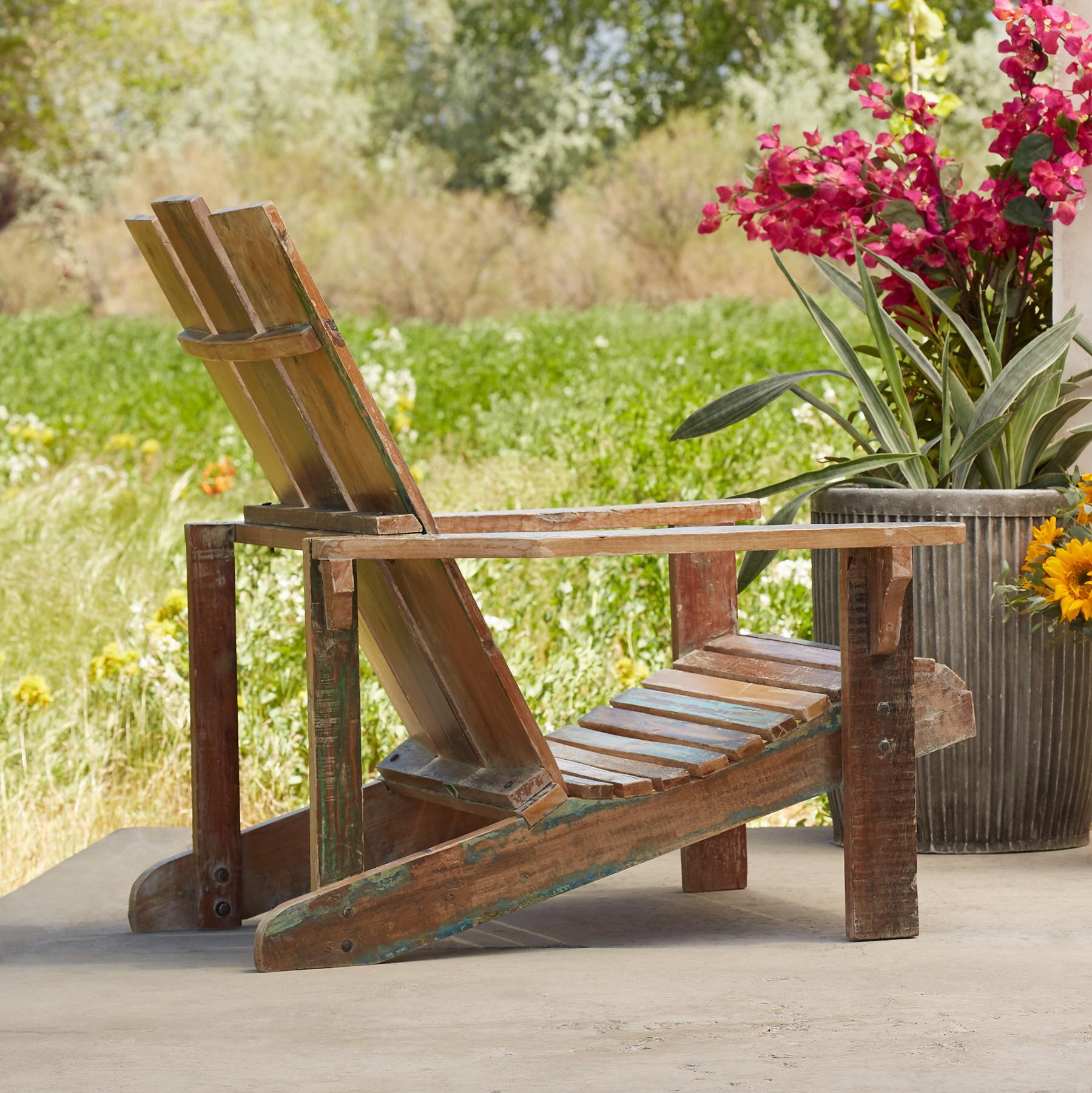 RECLAIMED ADIRONDACK CHAIR: View 4