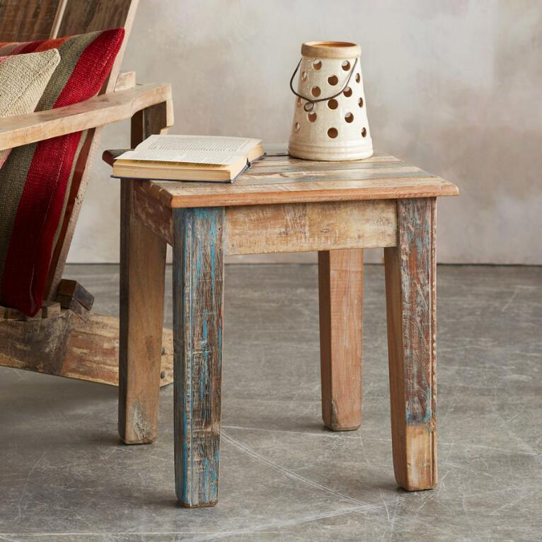 RECLAIMED ADIRONDACK SIDE TABLE