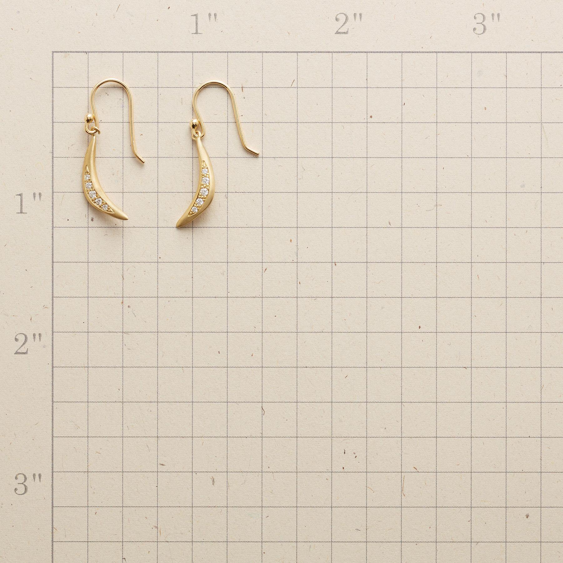 SPARKLING ARC EARRINGS: View 2
