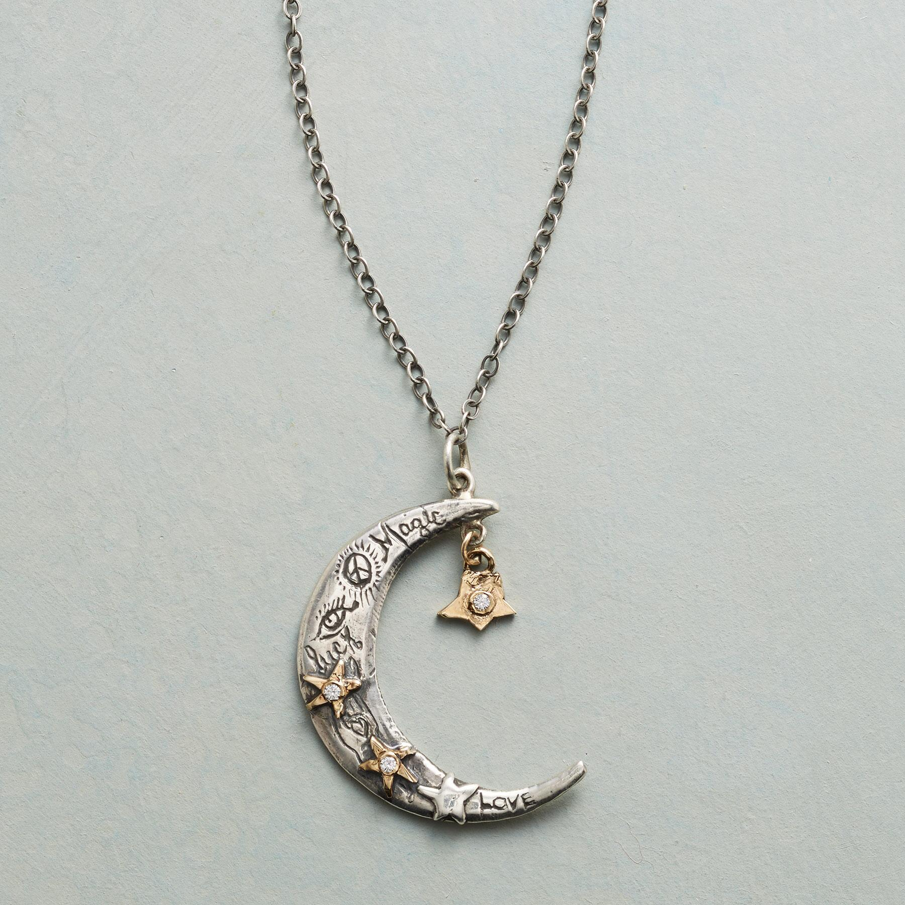 STARRY MOON NECKLACE: View 1
