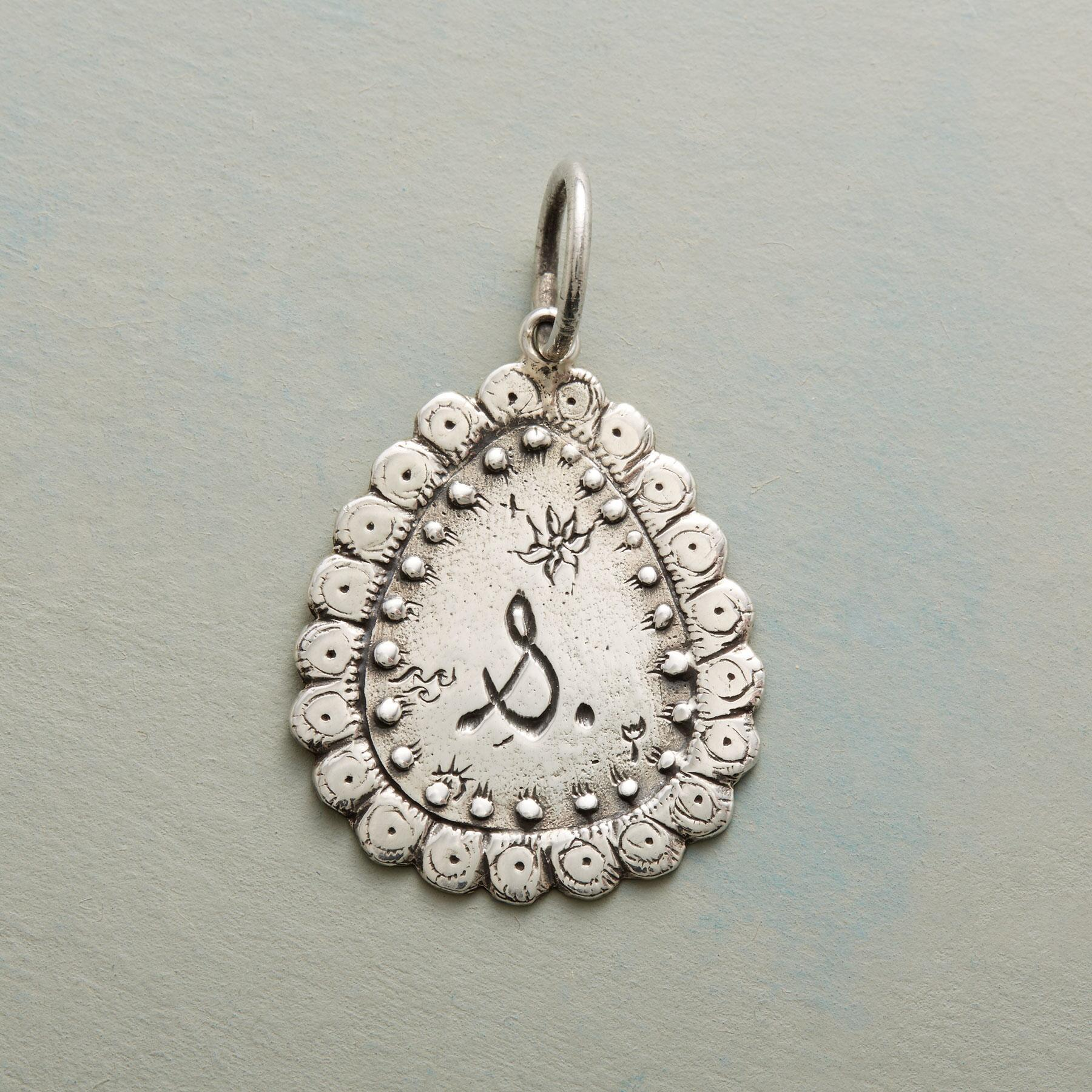 STERLING SILVER LOVED FOREVER CHARM: View 1