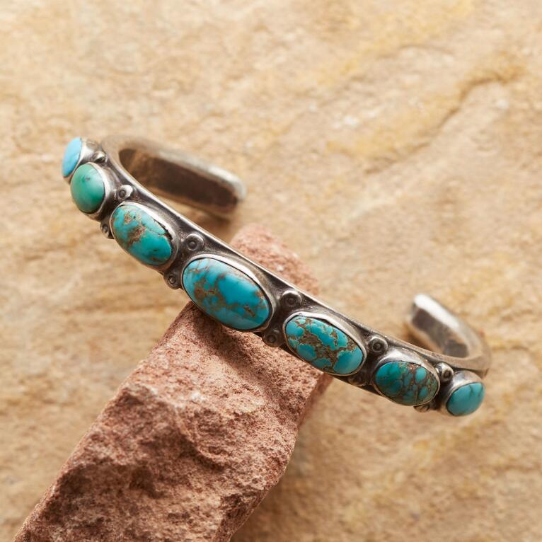 TURQUOISE PATH CUFF