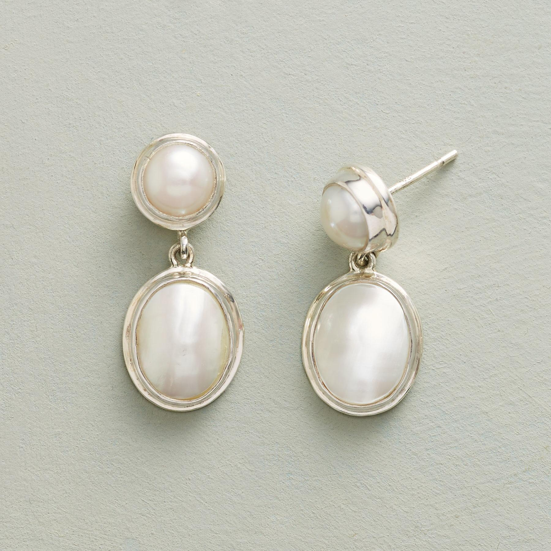 HARMONIOUS PEARL EARRINGS: View 1
