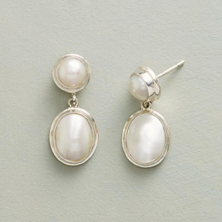 HARMONIOUS PEARL EARRINGS