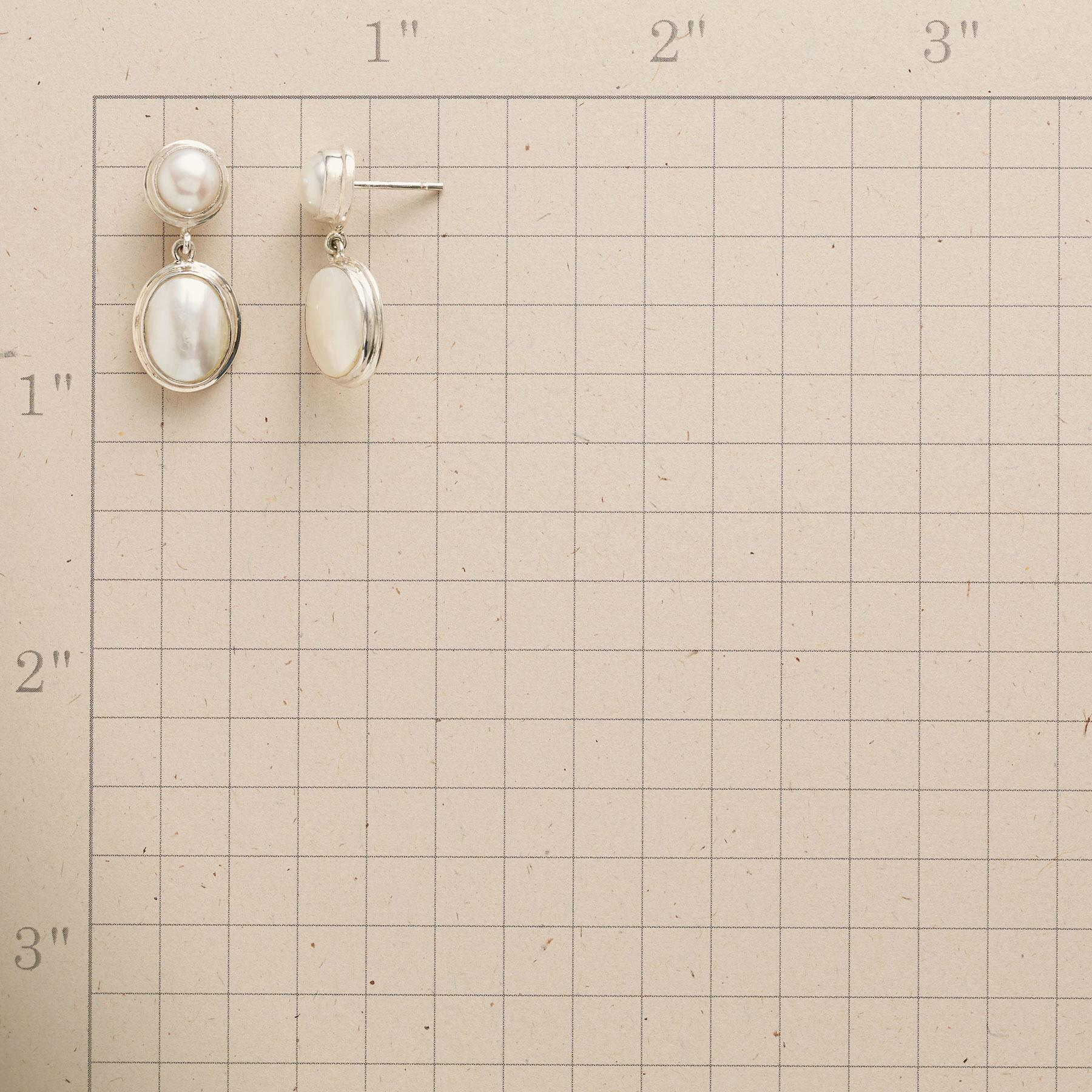 HARMONIOUS PEARL EARRINGS: View 2