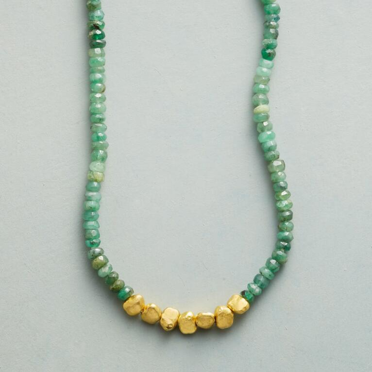 EMERALD LODE NECKLACE