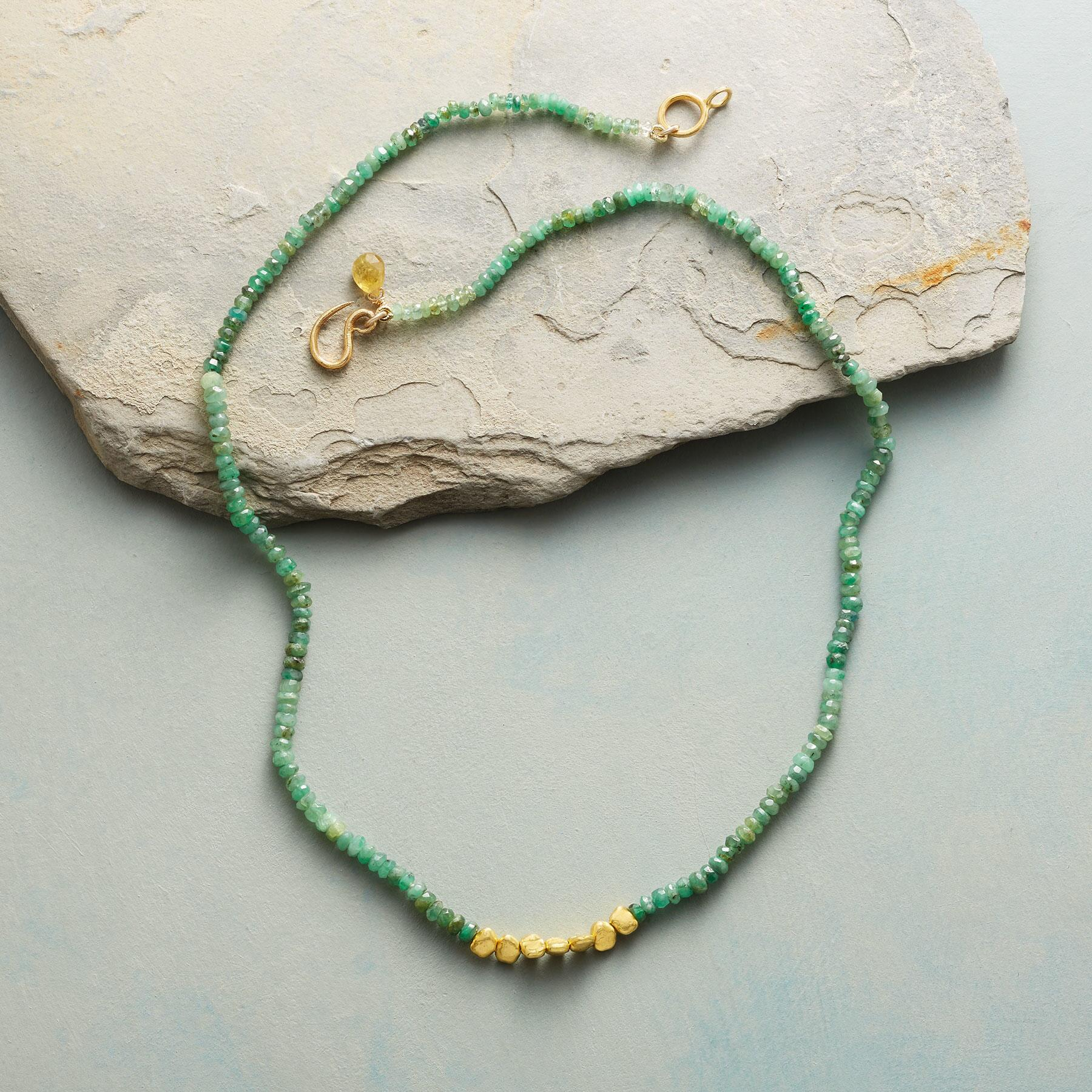 EMERALD LODE NECKLACE: View 2
