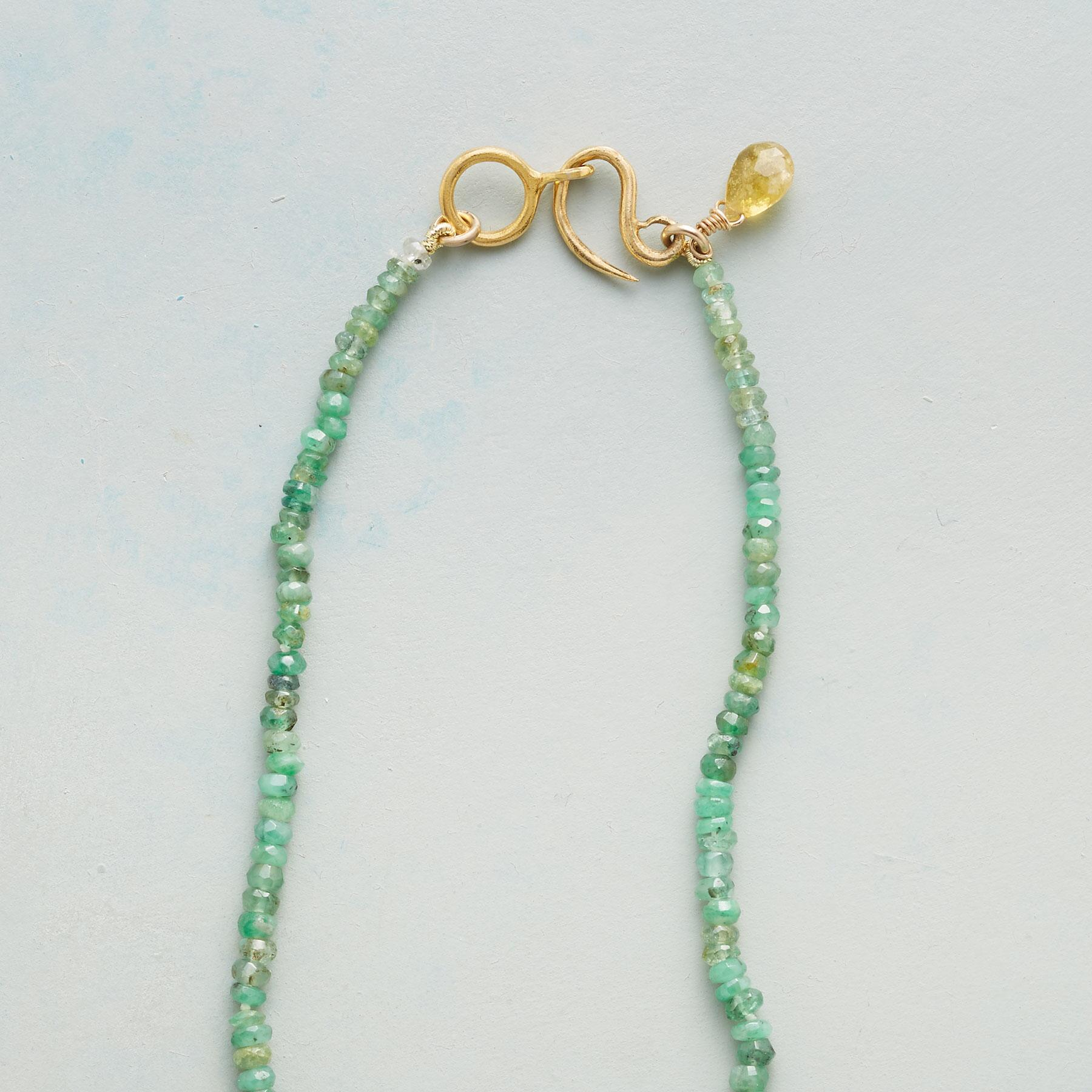 EMERALD LODE NECKLACE: View 3