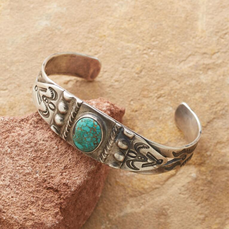 1940'S NO. 8 TURQUOISE CUFF