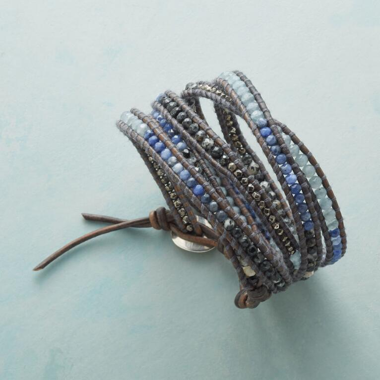 DUSKY TRAILS 5 WRAP BRACELET