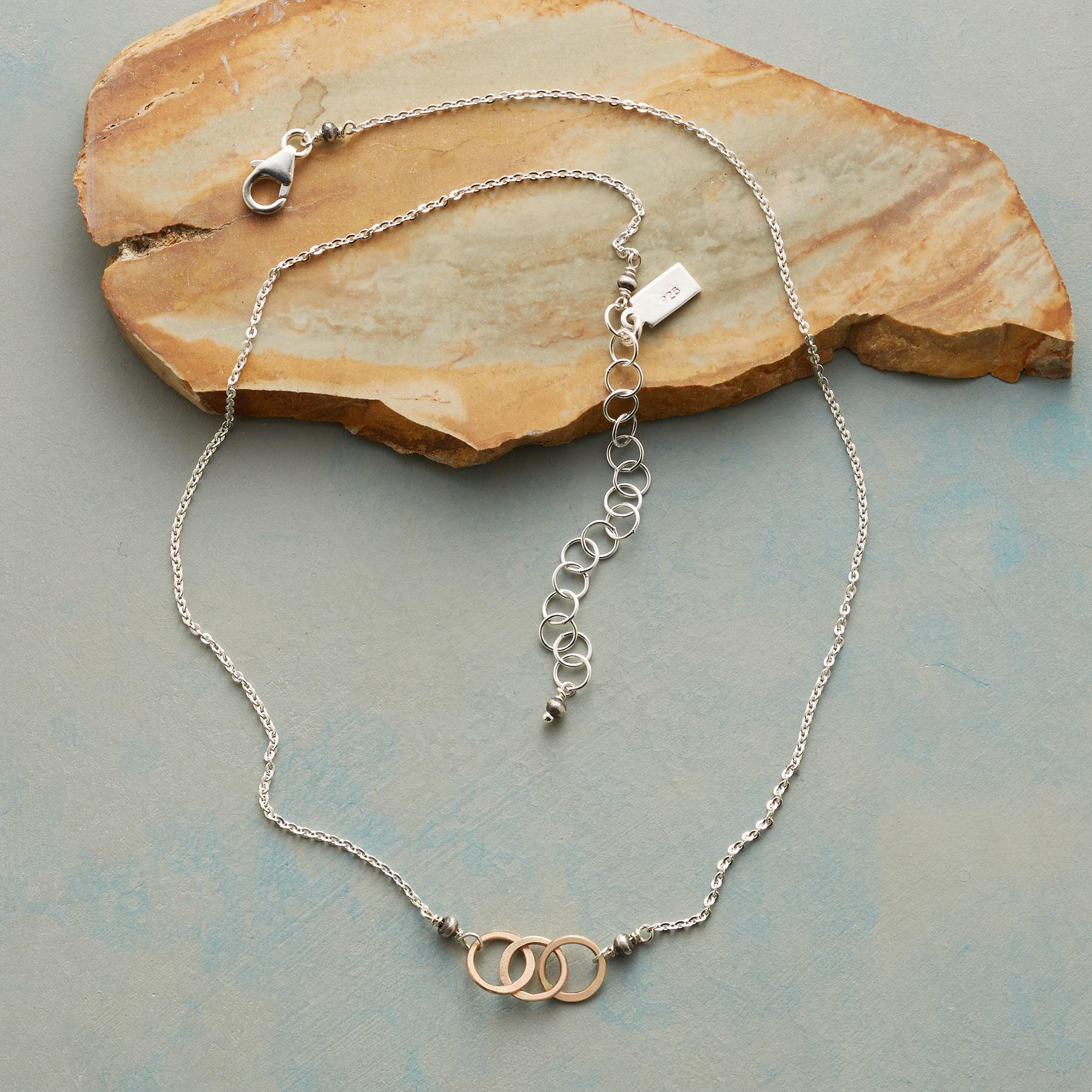 LINKED RING NECKLACE: View 2