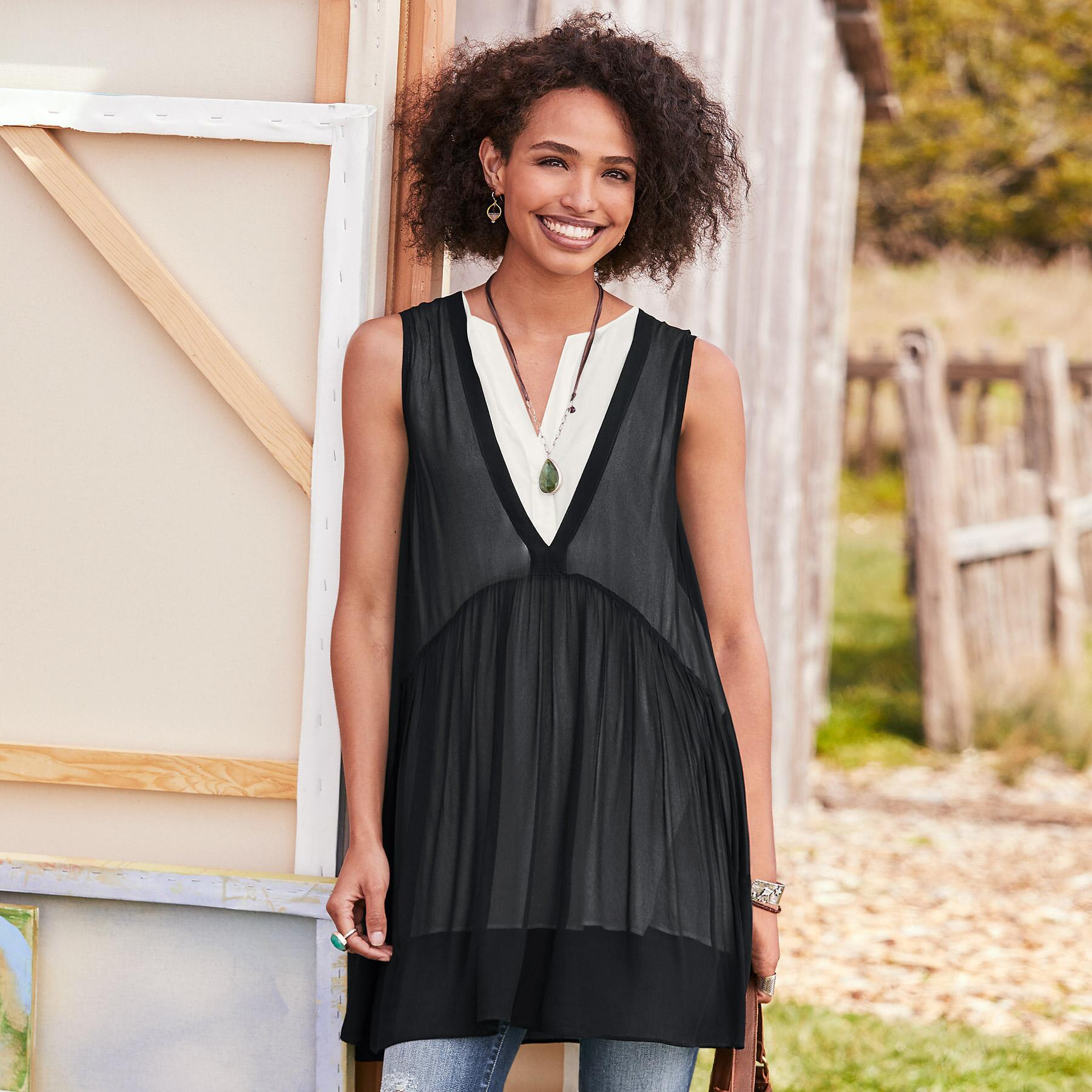 TIMELESS ALLURE TUNIC: View 1