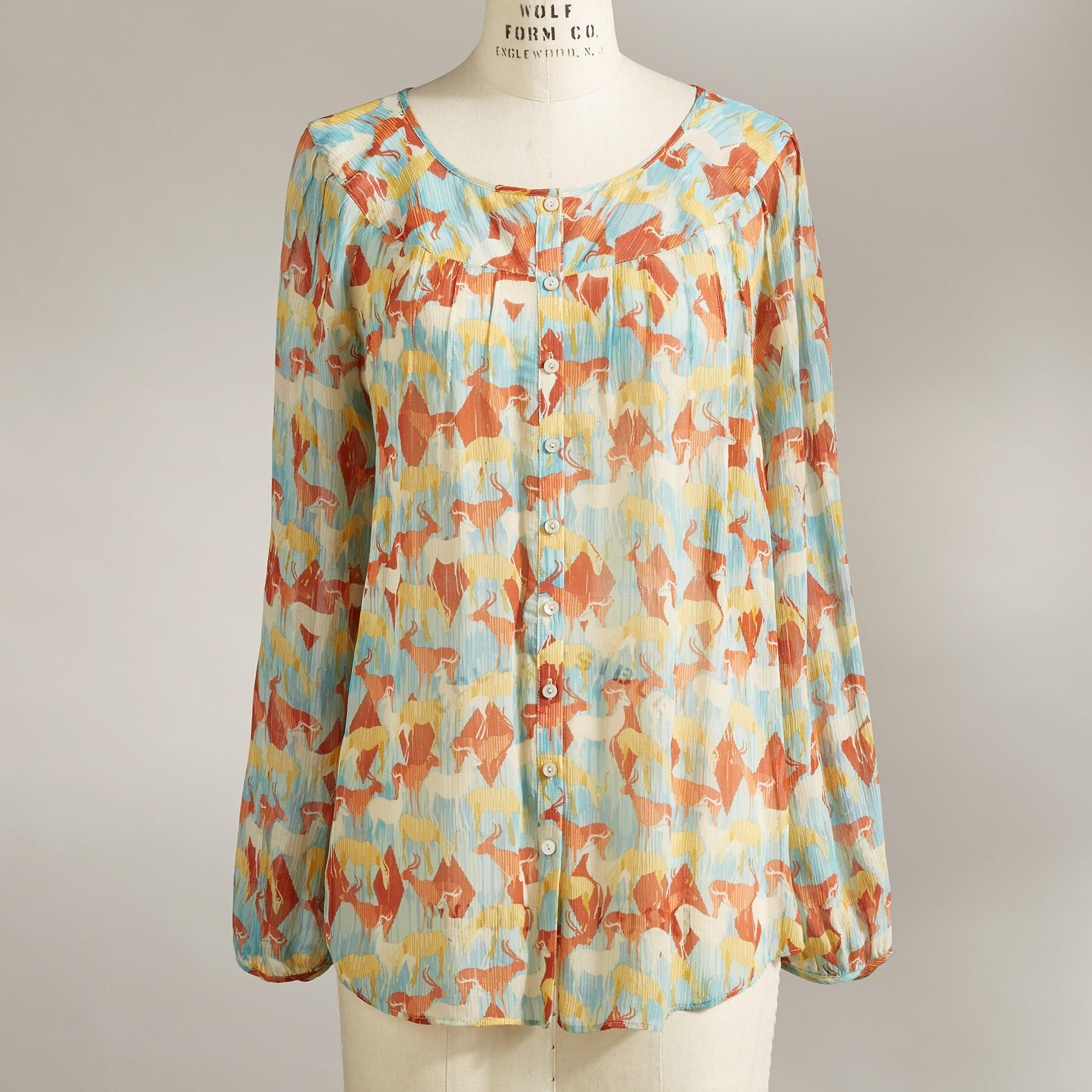 NATURAL GRACE BLOUSE: View 2