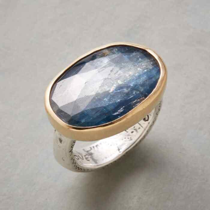 BOUNTIFUL BLUE RING
