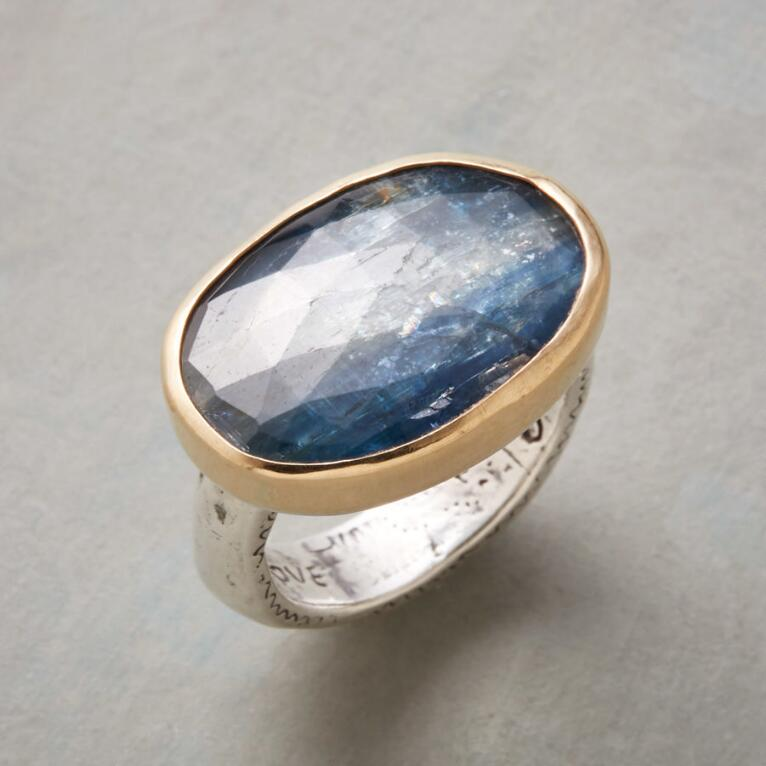 BOUNTIFUL BLUE RING