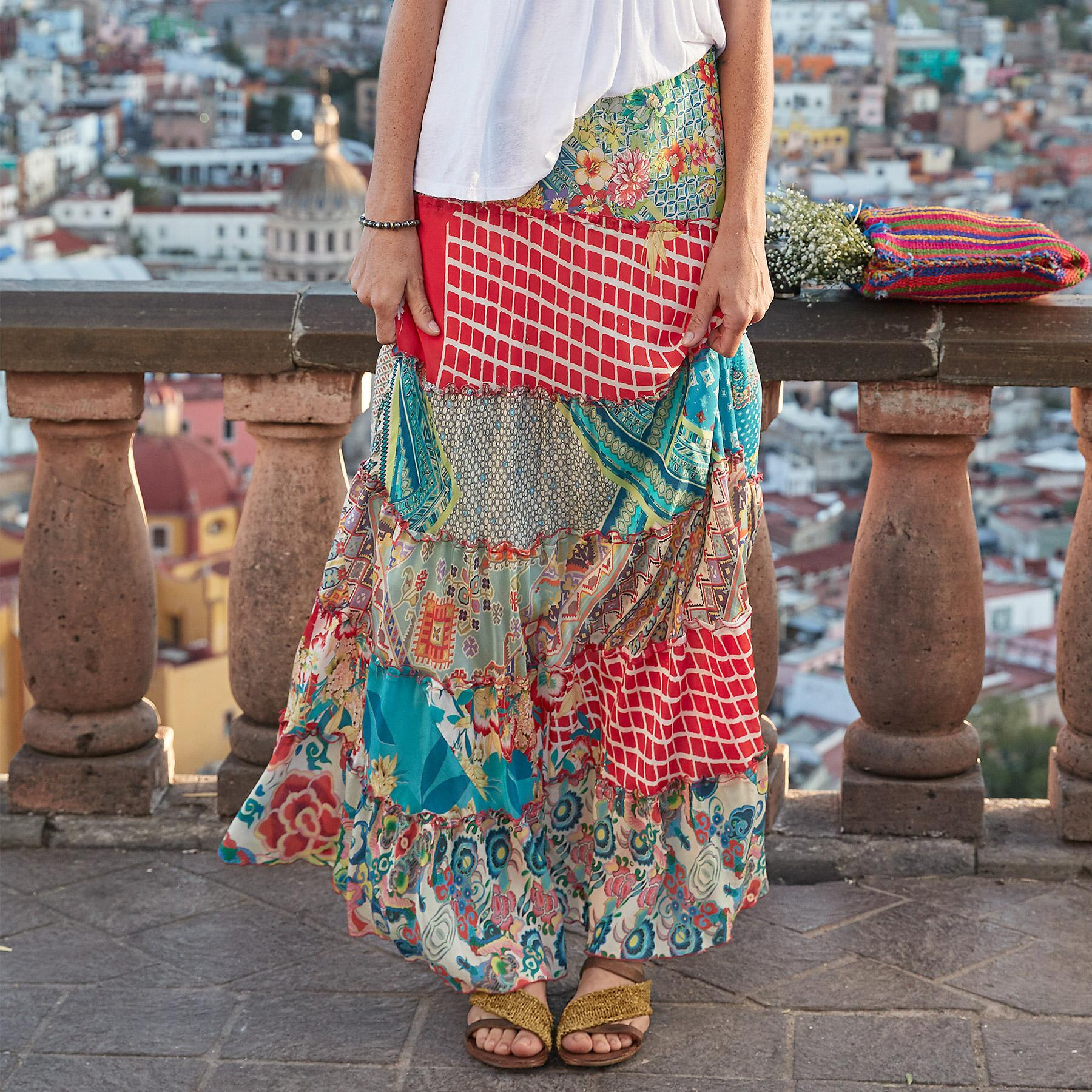 TIERS OF HAPPINESS SKIRT: View 1