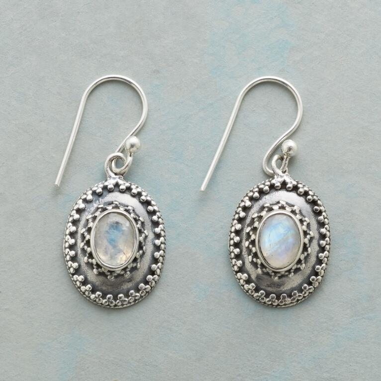 FACETED MOONLIGHT EARRINGS