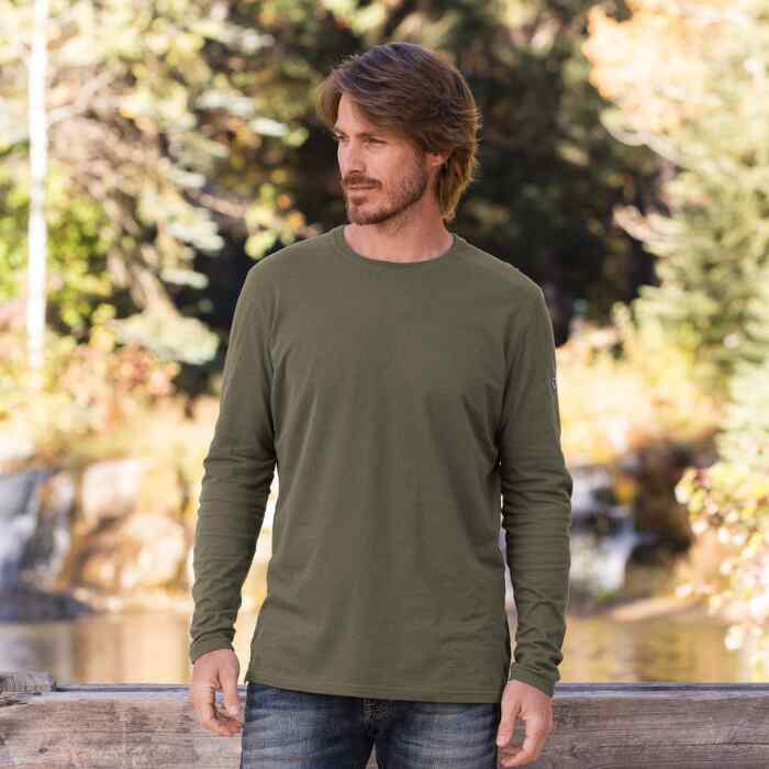 BRAVADO LONG-SLEEVE TEE