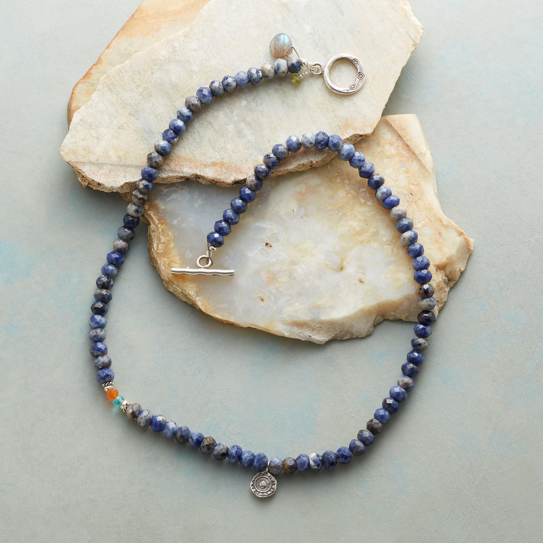 SODALITE SUNDROP NECKLACE: View 2