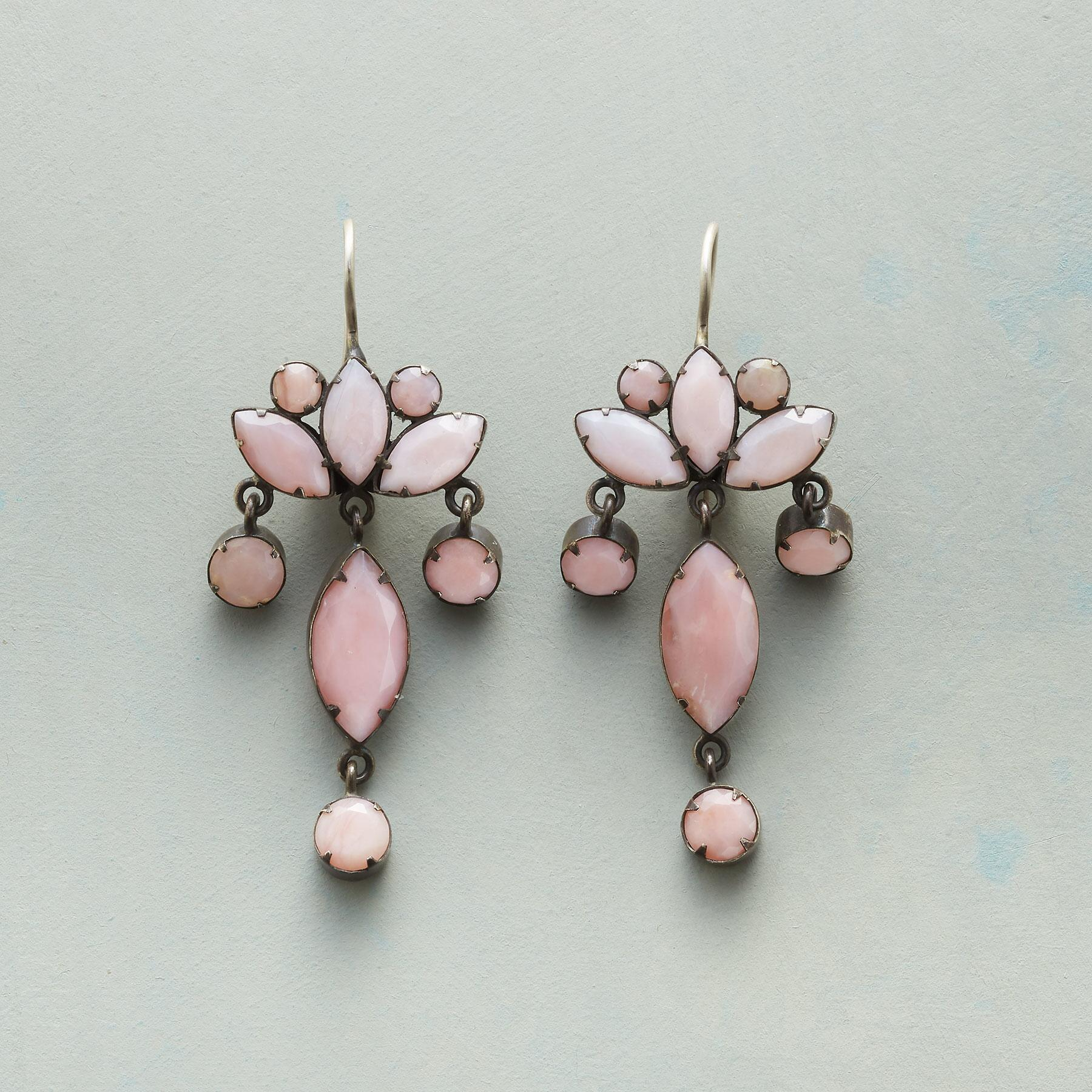 OPAQUE OH PINK EARRINGS: View 1