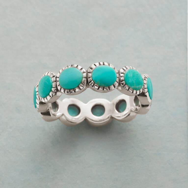 TURQUOISE ROUNDABOUT RING