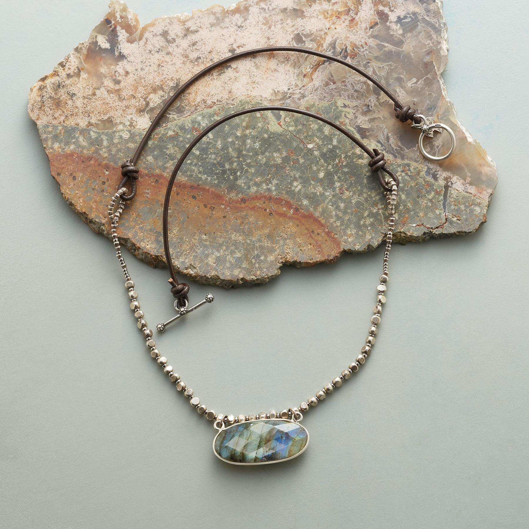 INTO THE CANYON NECKLACE: View 2