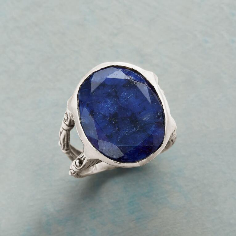BLUE AURA RING