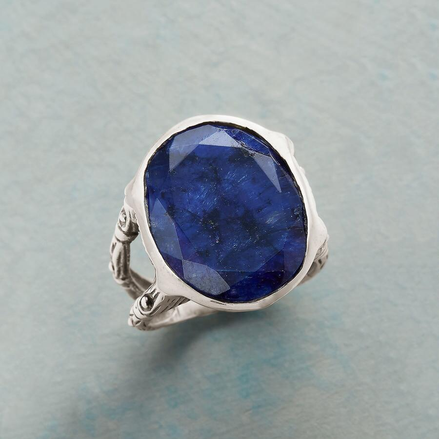 BLUE AURA RING