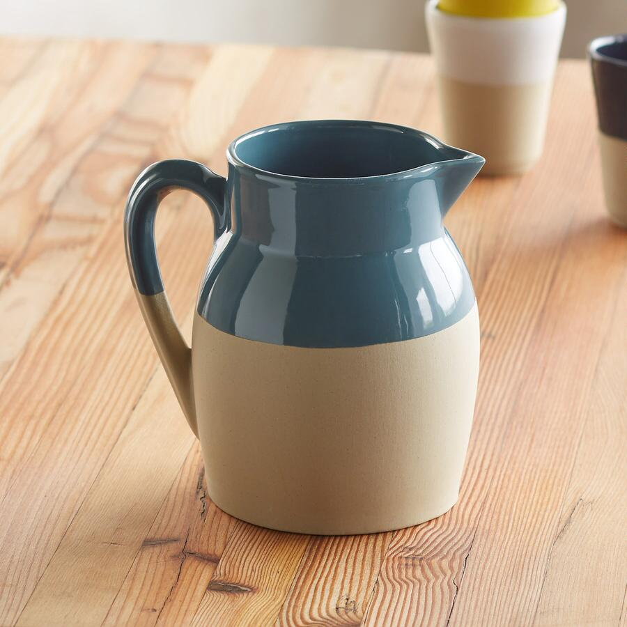 CORRINE STONEWARE PITCHER