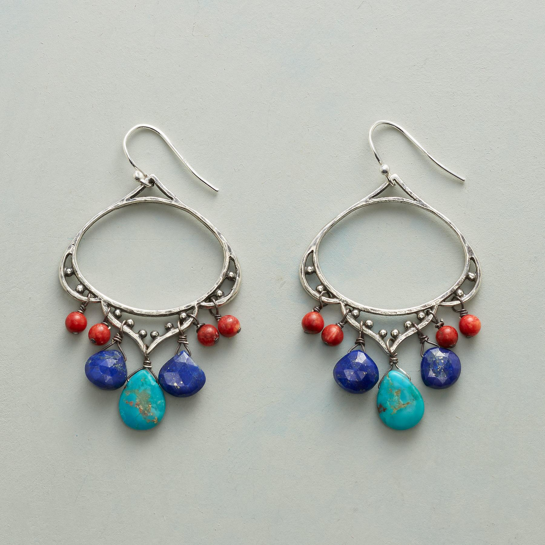 CLOUD CATCHER EARRINGS: View 1