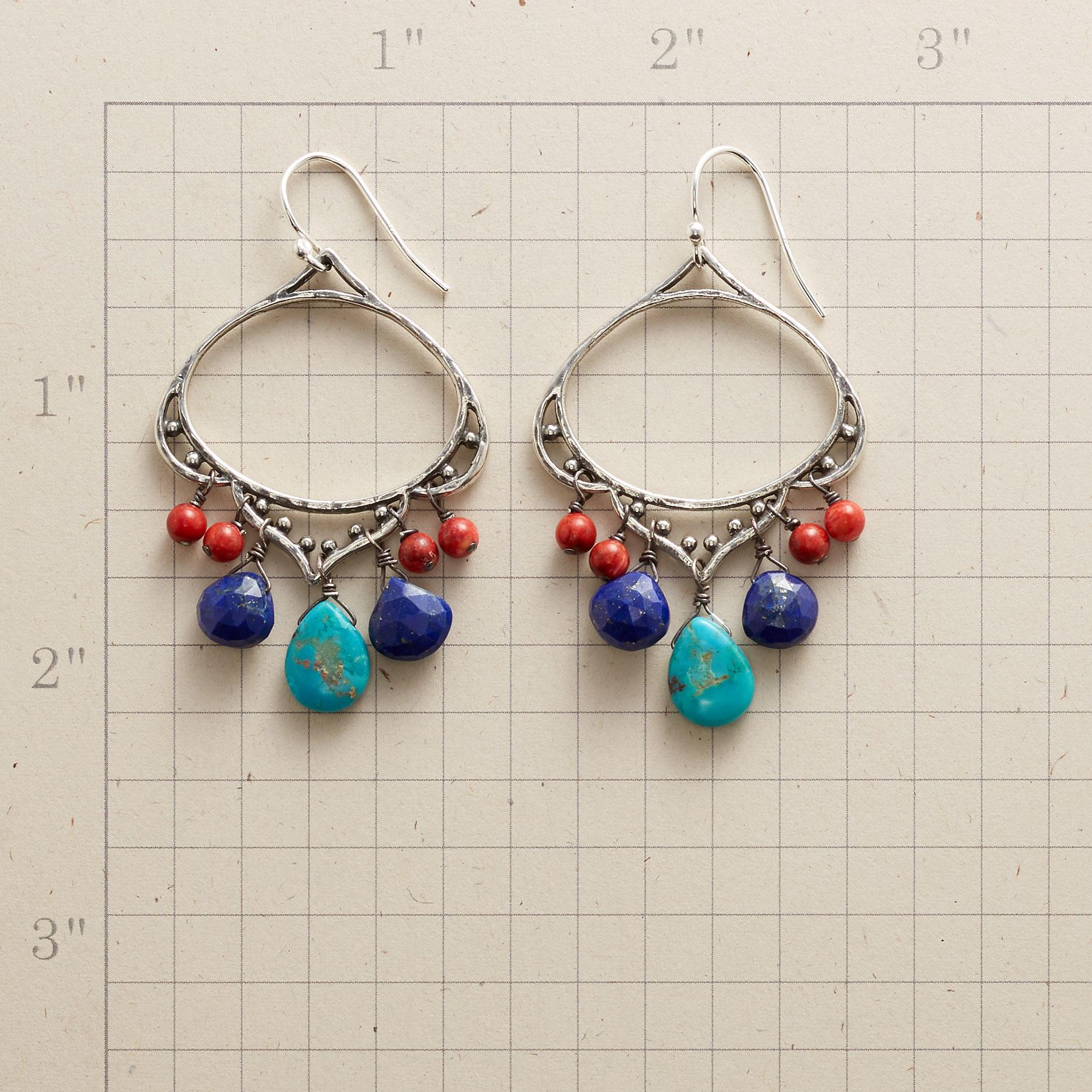 CLOUD CATCHER EARRINGS: View 2