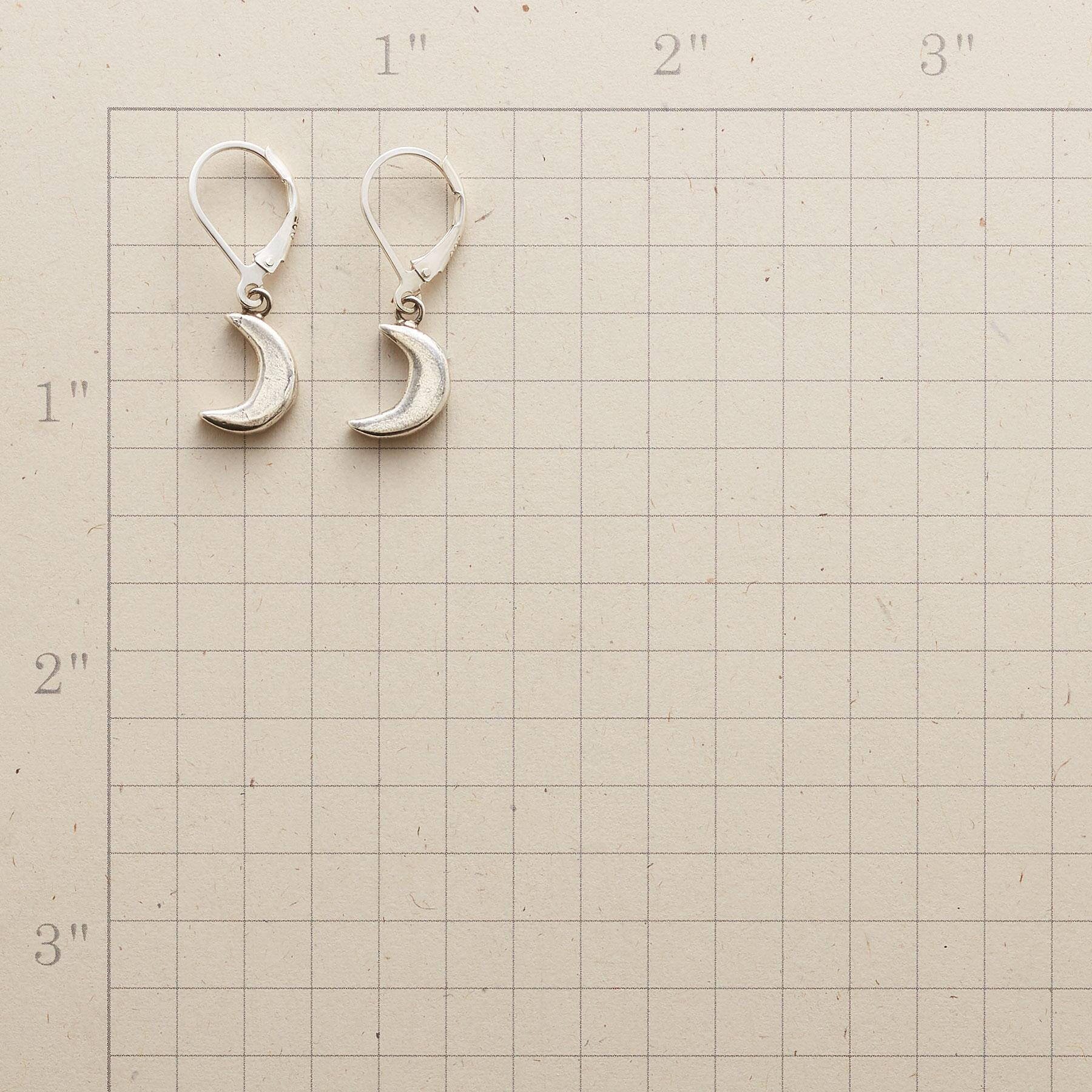 CRESCENT MOON EARRINGS: View 2