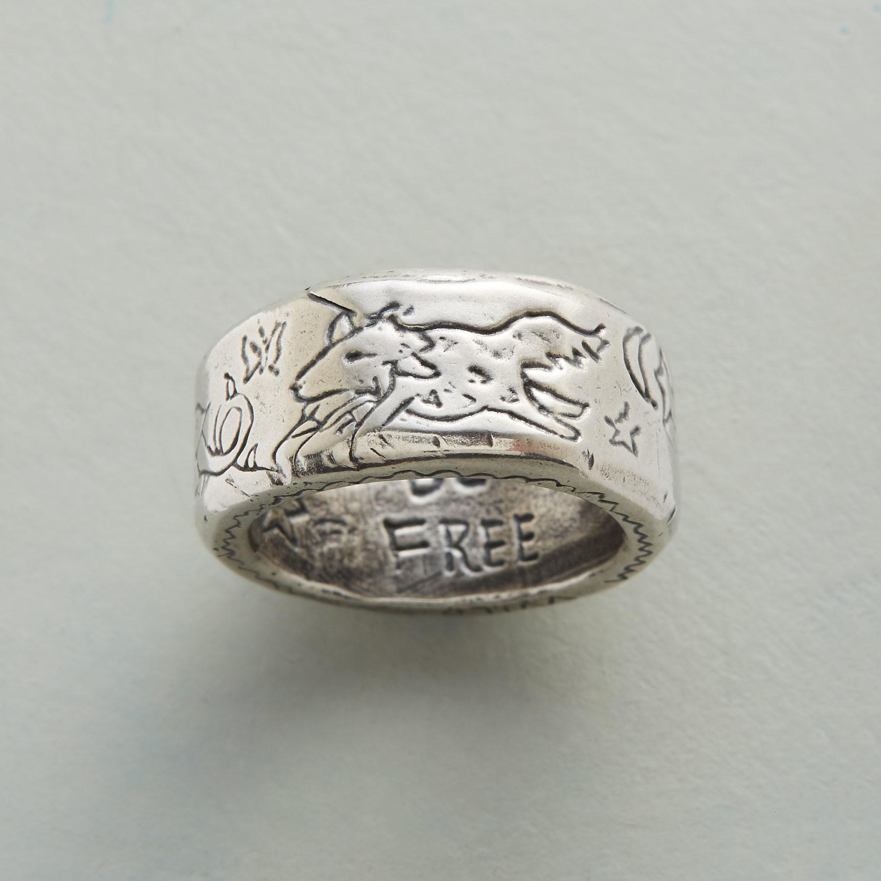 FREEDOM FROLIC RING: View 1