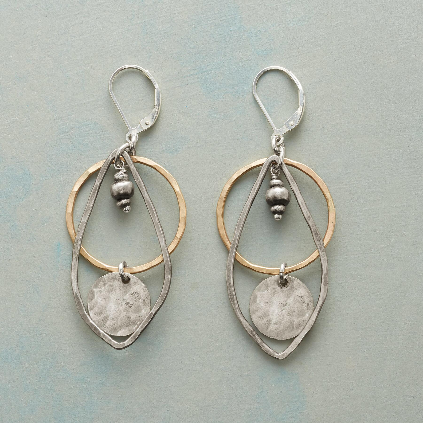 WEATHERVANE EARRINGS: View 1