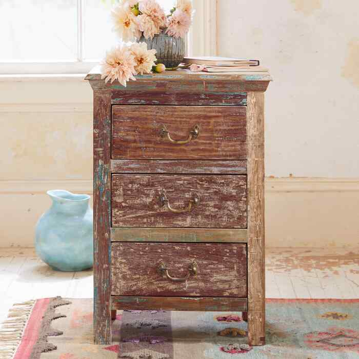 LA SAL SIDE TABLE