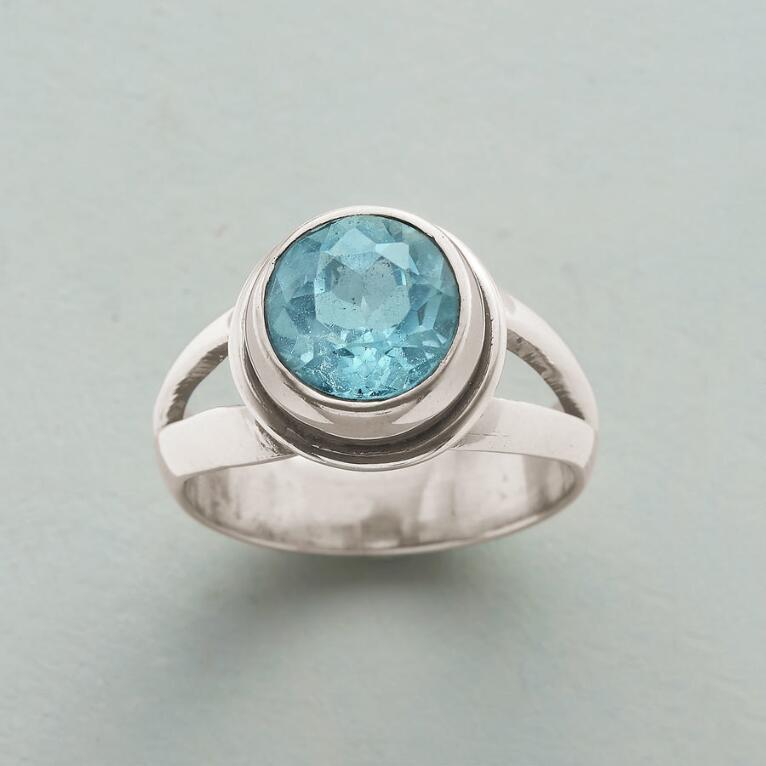 GLACIAL BLUE RING