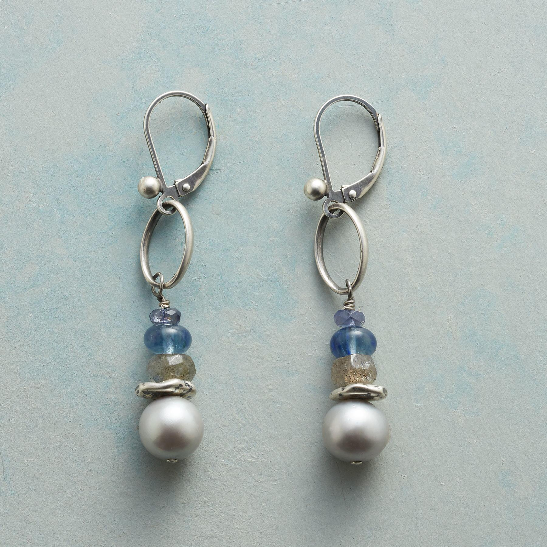 PEARL MIST EARRINGS: View 1