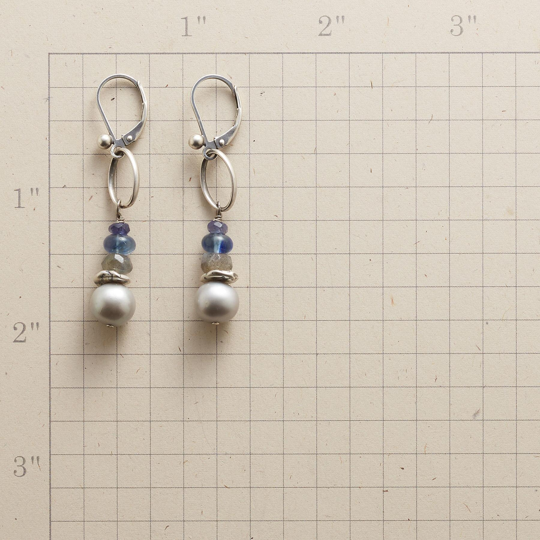 PEARL MIST EARRINGS: View 2